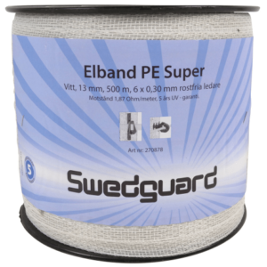 elbånd-elektrisk gjerde-PE-super