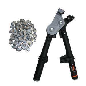 gripple strammeverktøy strammetang skjøt strømgjerde elektrisk gjerde brukt