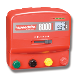 gjerdeapparat, strømgjerder, elektrisk gjerde, innhegning, speedrite 6000