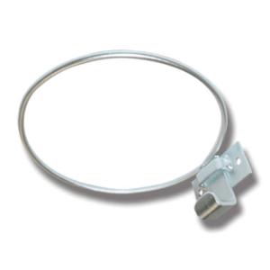 bøtteholder 14l-20l, galvanisert, låsebeslag til håndtak