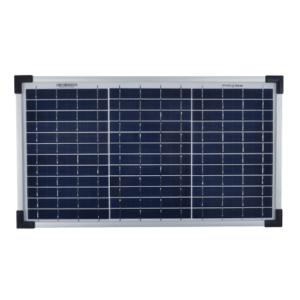 solcellepanel 20w batterilading batteri strømforsyning strømtilførsel