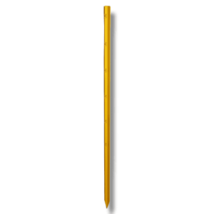 Stjerneprofilstolpe 115cm Gul
