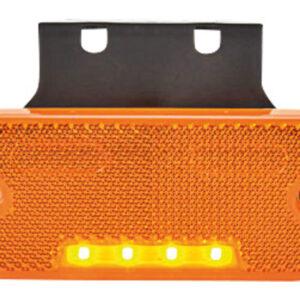 Markeringslykt rekangulær - kabel LED 12-24V Kramp