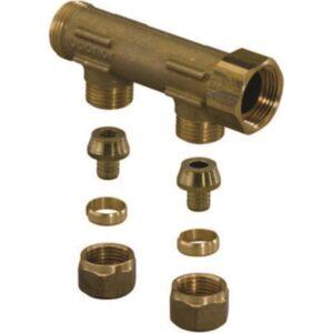 Fordeler med 2 avstikk og koblingssett 3/4x15mm