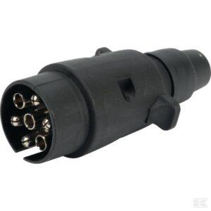 Plug 7-pole PVC